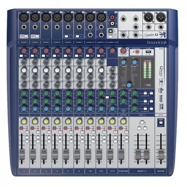 Analog Mixers Soundcraft Signature 12