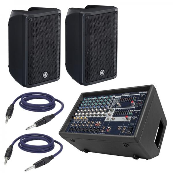 Mixer Amplificato Yamaha EMX 312sc + Coppia Speaker e Cavi