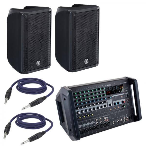 Mixer Amplificato Yamaha EMX 5 + Coppia Speaker e Cavi
