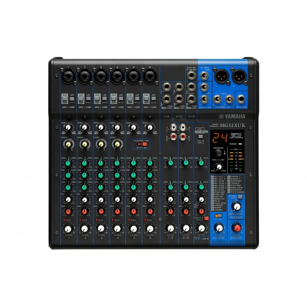 Mixer Analogici Yamaha MG 12 XUK
